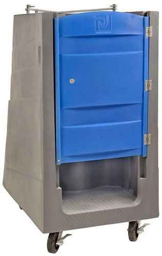 Poly Lift Portable Restroom with No Roof (PolyJohn PL01-1000)